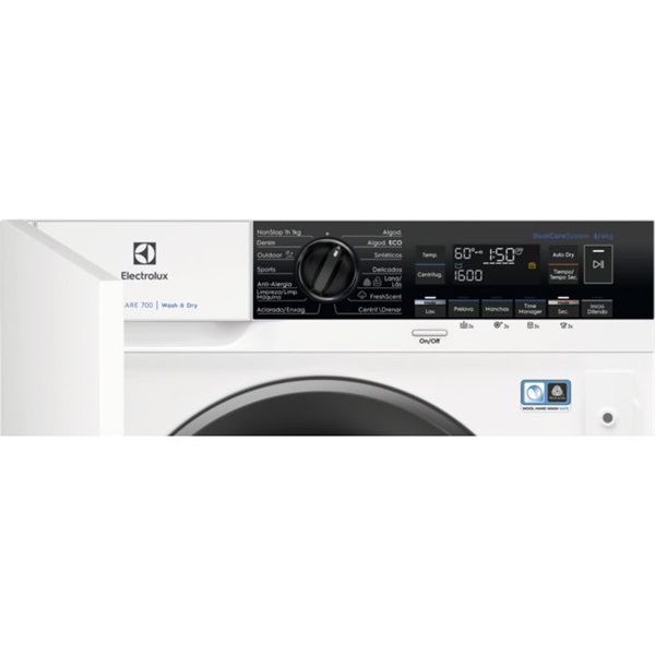Electrolux EW7W3866OF - Lavasecadora Integrable 8/4Kg 1600rpm Clase A
