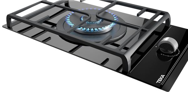 Teka 112570002 - Placa Gas Natural EXACT FLAME GZC 31330 XBN 1 Zona