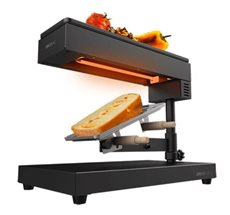 Cecotec 03081 - Raclette para Queso Cheese&Grill 6000 Black 600 W