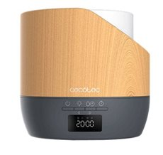 Cecotec 05640 - Humidificador PureAroma 500 Smart Grey Woody