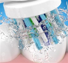 Oral B Pro 600 Cross Action - Pack de cepillo verde + cepillo morado