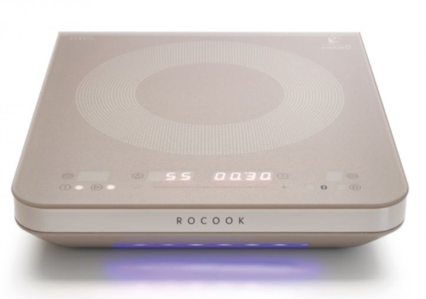 Cata 08003300 - ROCOOK Induction GR Placa portátil de ø 230 mm Baja temperatura