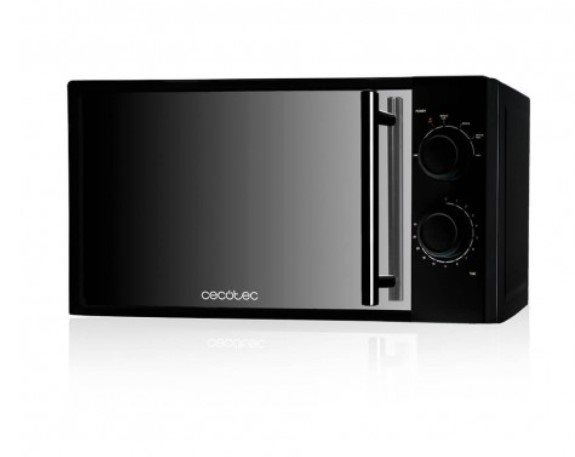 Cecotec 01367 - Microondas All Black de 20 litros en color negro 700W