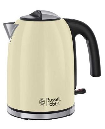 Russell Hobbs 20415-70 - Hervidor Flame Cream 1.7L Color Crema