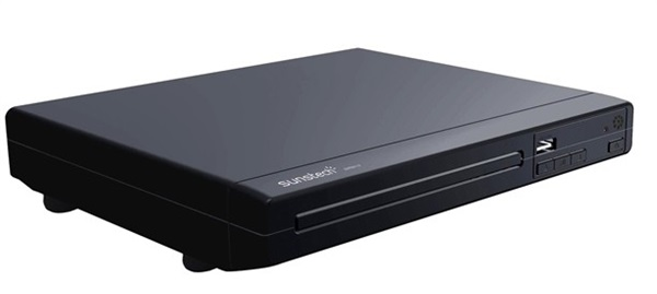 Sunstech DVPMX114 - Reproductor DVD MPEG4 Compacto USB Negro
