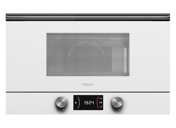 Teka 112030000 - Microondas integrable ML 8220 BIS L WH con gril abatible