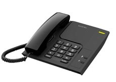 Alcatel Temporis 26 - Teléfono Fijo color negro volumen de timbre ajustable