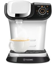 Bosch TAS6004 - Cafetera multibebida TASSIMO MY WAY Color blanco