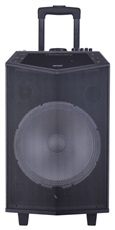 "Denver TSP-404 - Altavoz Bluetooth 12"" con ruedas SD MP3 USB AUX Entrada jack"
