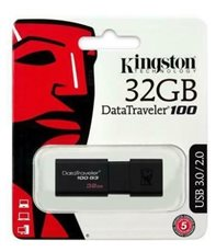 Kingston DT100G3 - Pendrive DataTraveler 100 G3 32Gb USB 3.0 y 2.0