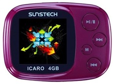 Mp4 Icaro 4Gb PURPLE