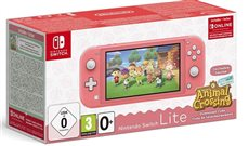 Nintendo Switch Lite - Consola Portátil Color Coral + Animal Crossing
