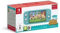 Nintendo Switch Lite - Consola Portátil Color Turquesa + Animal Crossing