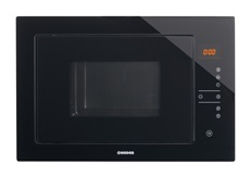 Nodor 3990 - Microondas Integrado NM 25 TG BLACK 900W 25L Negro