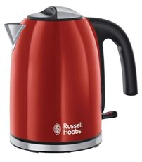 Russell Hobbs 20412-70 - Hervidor Flame Red 1.7L Color Rojo