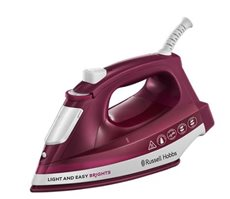 Russell Hobbs 24820-56 - Plancha de Vapor Light&Easy Brights Mulberry