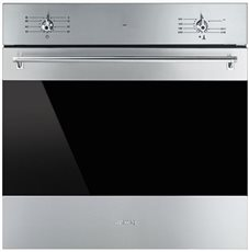 Smeg SF6341GGX - Horno a Gas 60 Cm Clase A Inoxidable Antihuellas