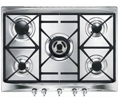 Smeg SR275XGH2 - Placa de Gas Natural 70 Cm 5 Fuegos Inoxidable