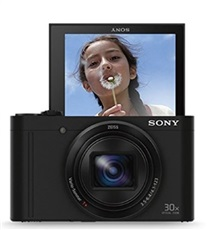"Sony DSC-WX500 - Cámara digital compacta 18Mp 3"" 24-720mm 30xOpt. Full HD Negro"