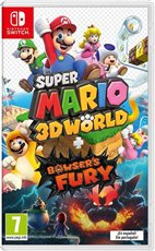 Super Mario 3D World + Bowser´s fury para Nintendo Switch