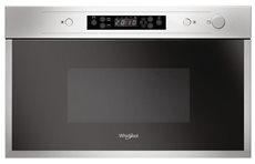 Whirlpool AMW 442/IX - Microondas Integrable con Grill 22 Litros