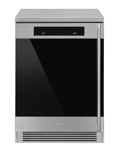 Smeg CVF338XS - Vinoteca 38 Botellas Clase A Inoxidable Antihuellas - Zoom