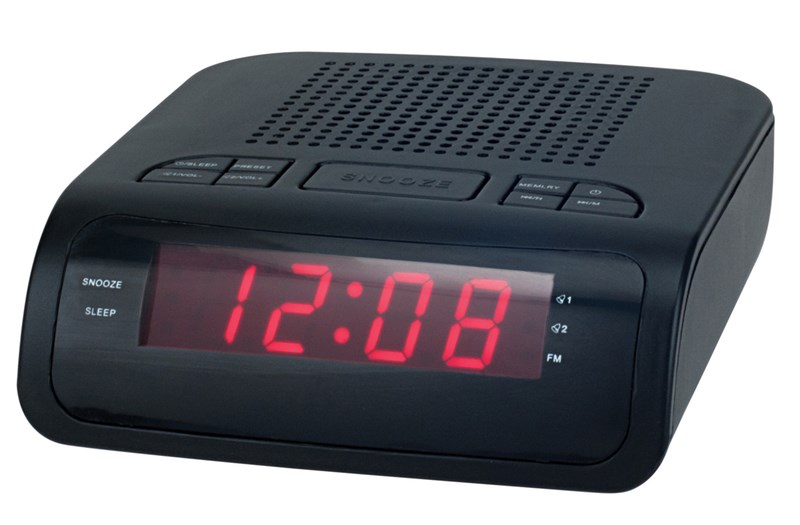 Radios Despetadores Denver CR419MK2 Doble Alarma Negro Display Led - Zoom