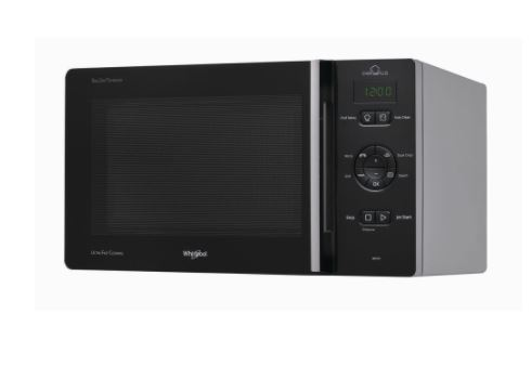 Microondas Whirlpool MCP 346 SL 25 Litros Color Negro Grill 800 W - Zoom